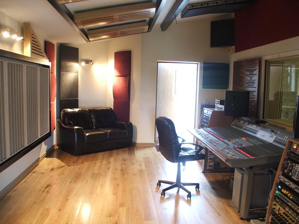 Bluebird Studios Control Room