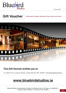 recording Studio Voucher